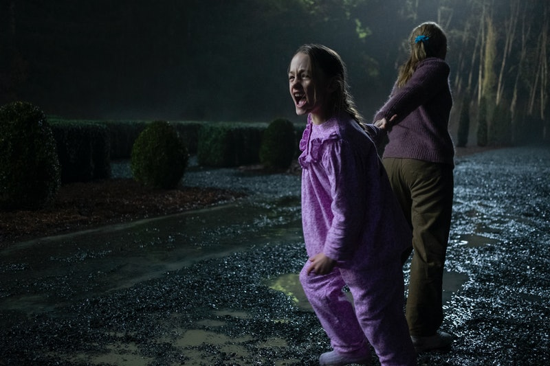 Flora and Dani in 'The Haunting of Bly Manor,' which was filmed in Vancouver (via the Netflix press site)
