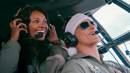 Kat Graham and Alexander Ludwig star in Netflix's Operation Christmas Drop.