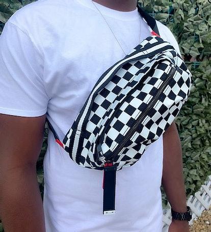 Checker Chest Bag