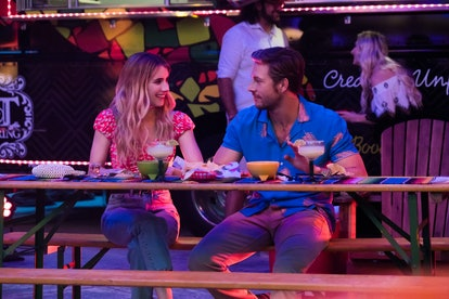 Emma Roberts and Luke Brace star in Netflix's Holidate.