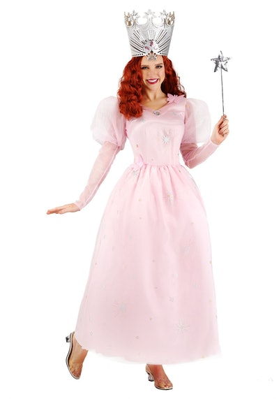 Plus Size Wizard of Oz Glinda Costume