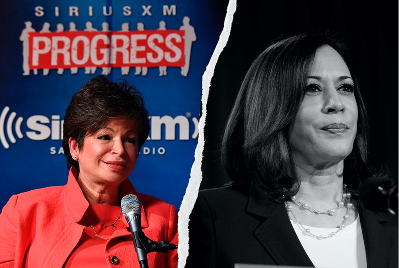 Valerie Jarrett and Sen. Kamala Harris