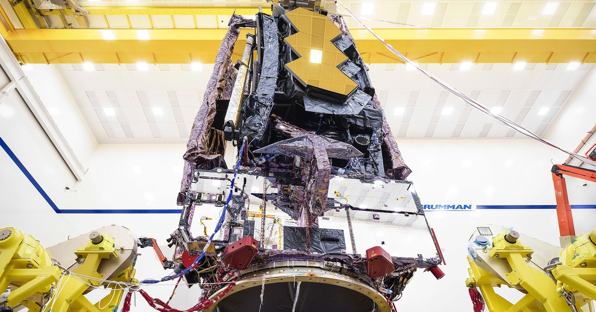 "NASA: A long-delayed telescope finally passes a ""monumental milestone"""