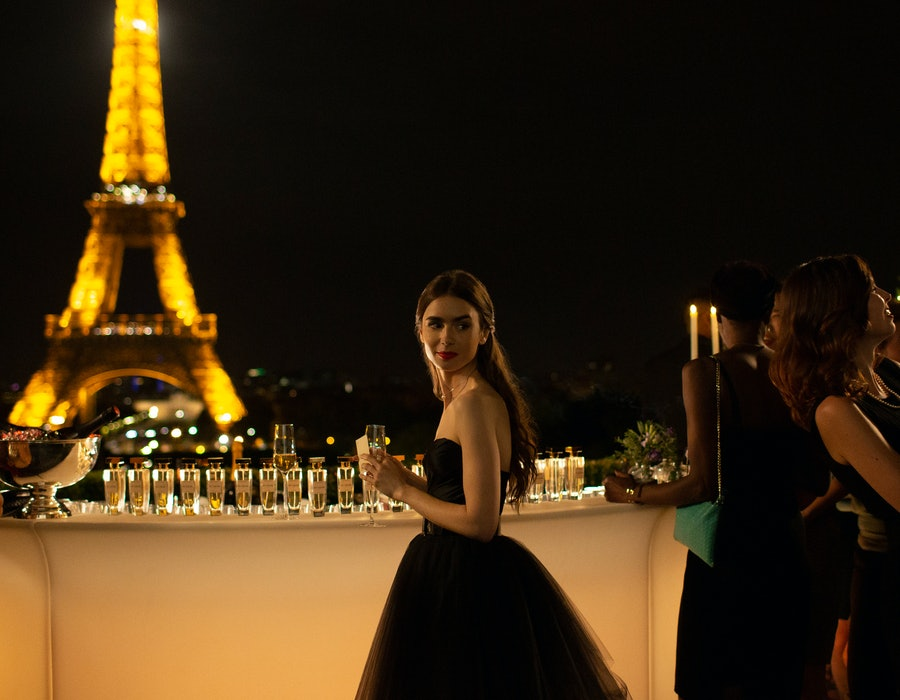 Lily Collins in Netflix's 'Emily in Paris'