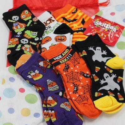 Children's Halloween Bag of Socks