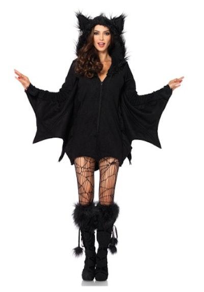 Plus Size Cozy Bat Costume