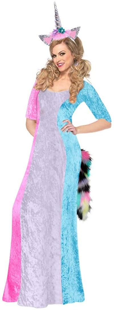 Lavender & Pastels Unicorn Plus Size Supersize Halloween Costume