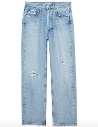 90's Mid Rise Loose Fit Jeans