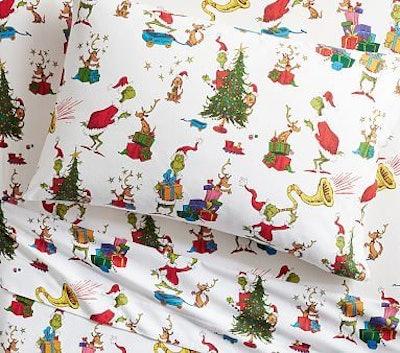 Dr. Seuss's The Grinch & Max™ Flannel Duvet Cover