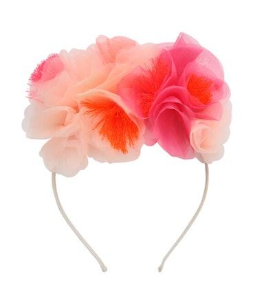 Pink Floral Headband