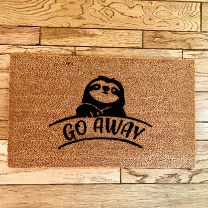 Go away cute doormat