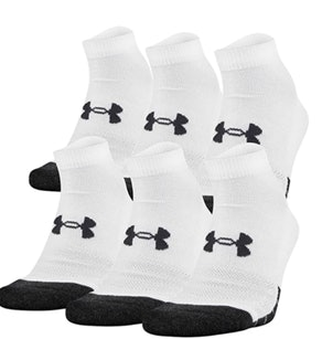 Under Armour Adult Performance Tech Low-Cut Socks (6 Pairs)