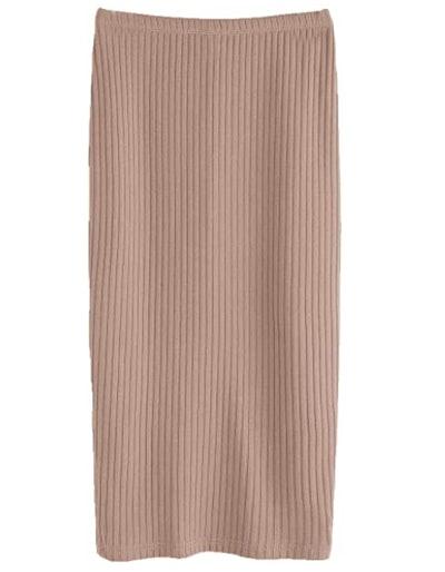 Shein Stretchy Split Skirt