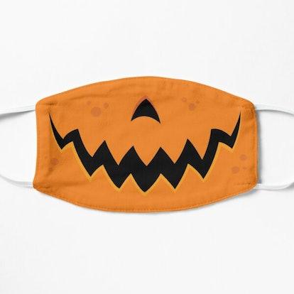 Fizzgig Crazy Pumpkin Jack-O-Lantern Mouth Mask