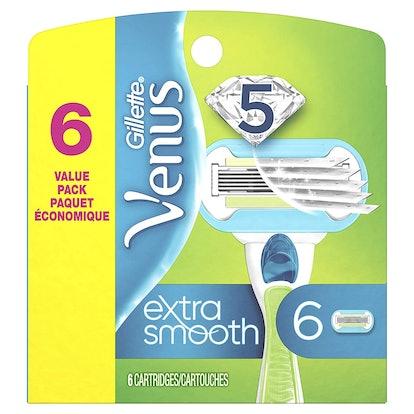 Gillette Venus Razor Blades (6-Pack)