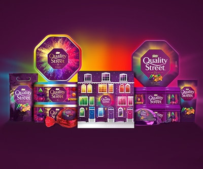Personalised Quality Street