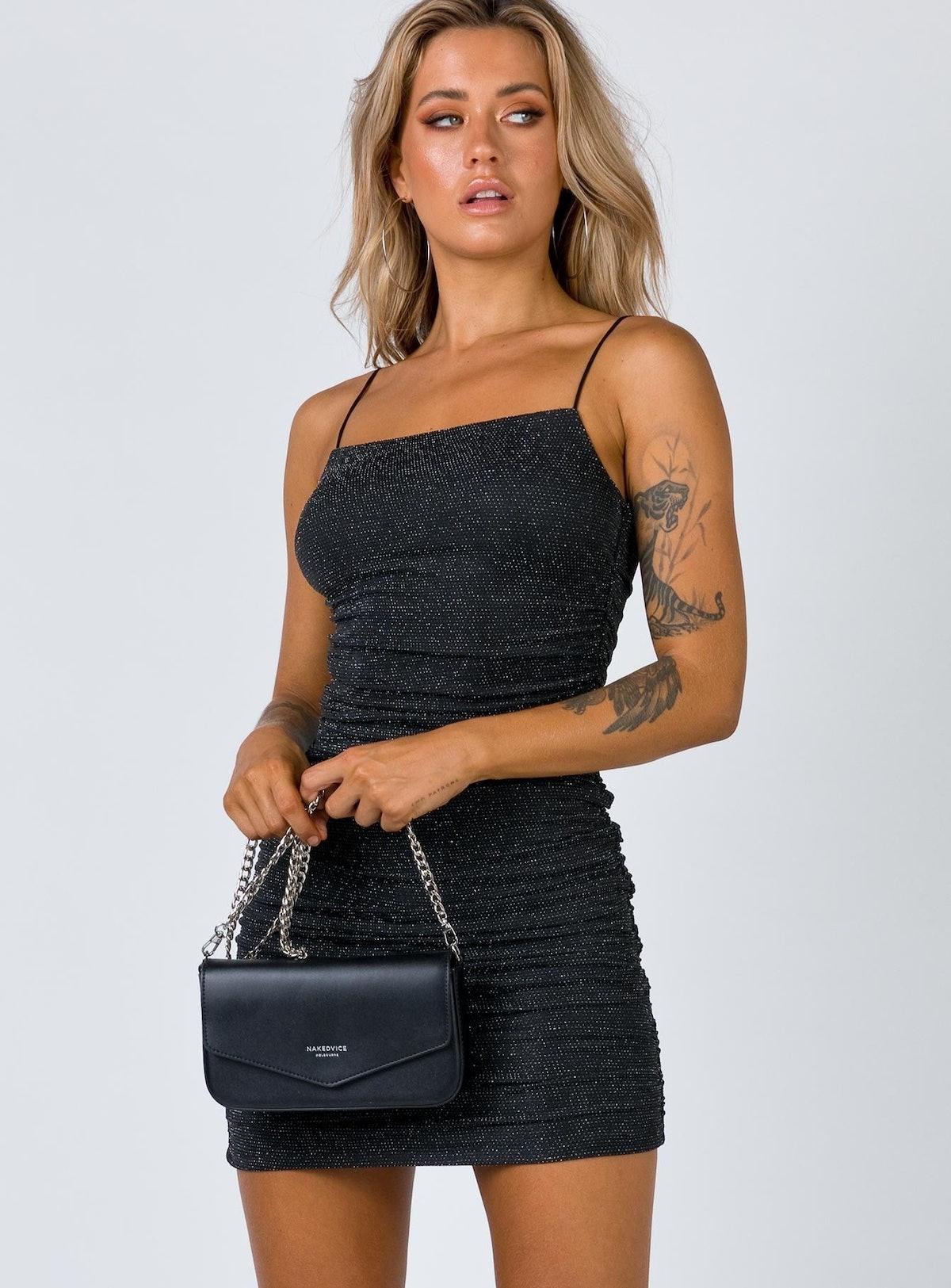 Reeva Mini Dress Black