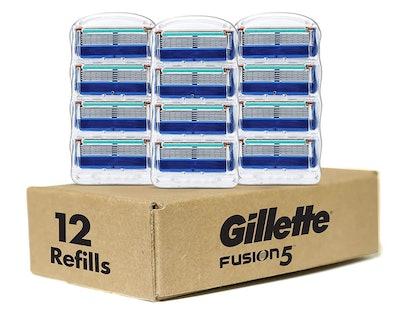 Gillette Fusion Razor Blade Refills (12-Pack)