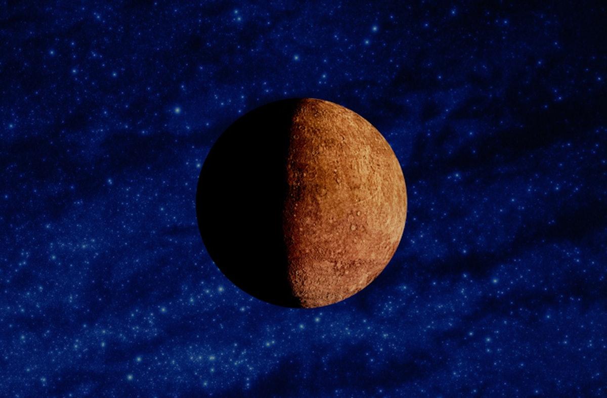 Mercury retrogrades happen about three times per year.
