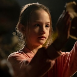 Amelie Smith as Flora in 'The Haunting of Bly Manor' via Netflix's press site