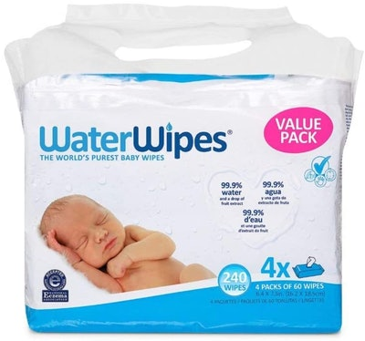 WaterWipes Sensitive Baby Wipes (4-Pack)