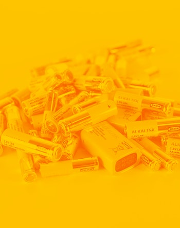 Ikea batteries.