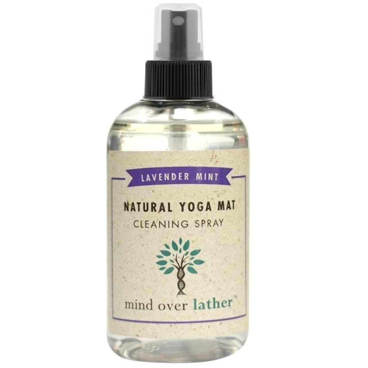 Mind Over Lather Yoga Mat Cleaning Spray (8 Ounces)