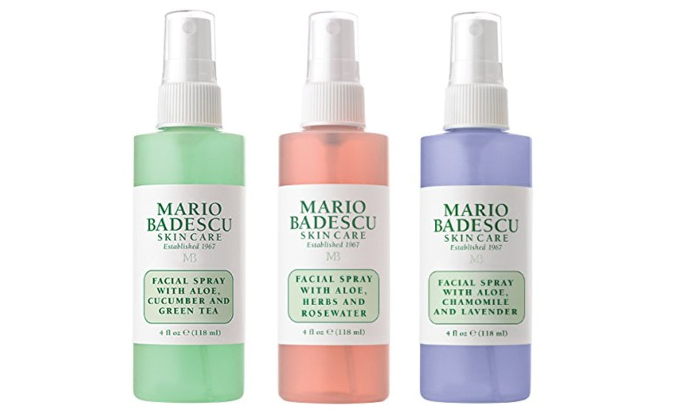 Mario Badescu Spritz Mist And Glow Facial Spray Collection, 4 Oz. (3-Pack)