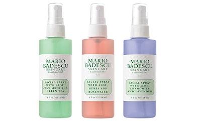 Mario Badescu Spritz Mist And Glow Facial Spray Collection, 4 Oz. (3-Pack)