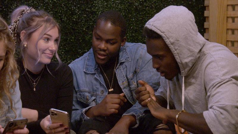 Deaf U: Cheyenna Clearbrook, Daequan Taylor and Rodney Burford in Deaf U. Cr. Courtesy of Netflix/2020