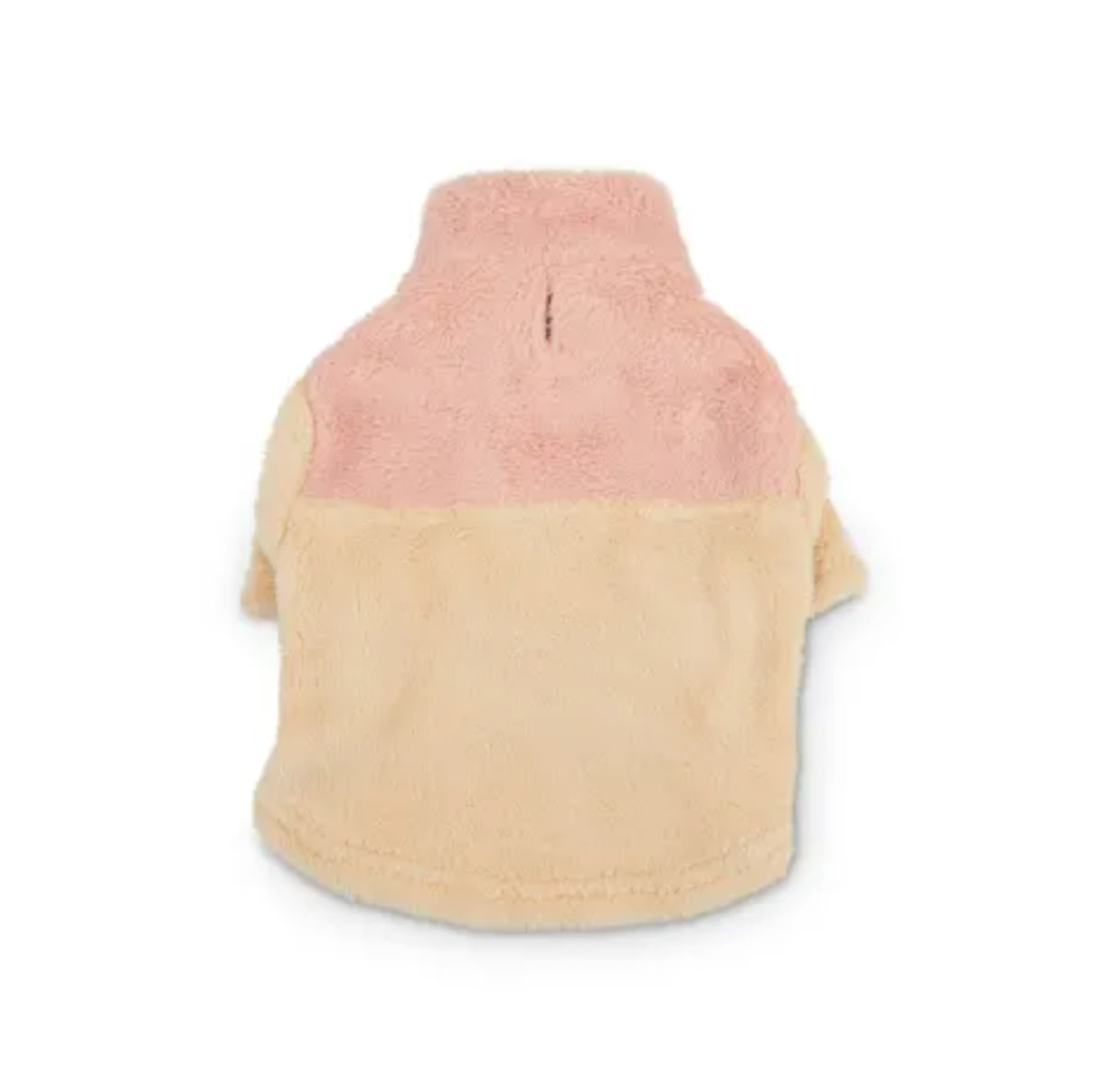 Reddy Pink & Olive High-Pile Fleece Dog Sweater, X-Small