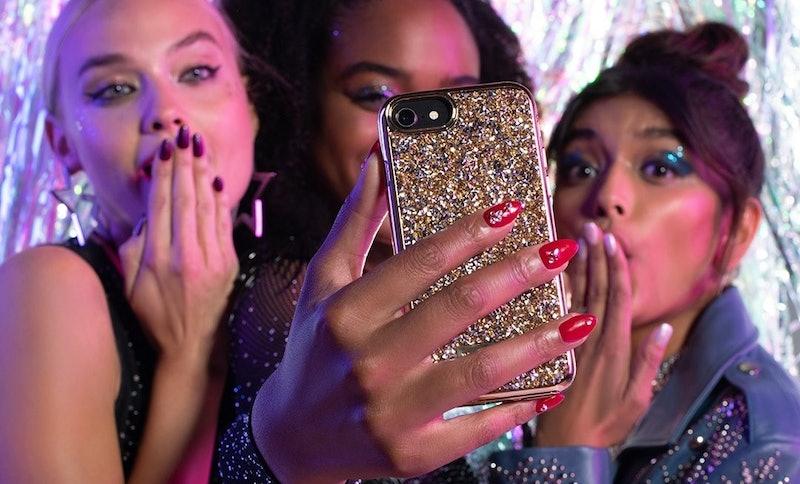 OPI's new Shine Bright nail polish collection on nails.