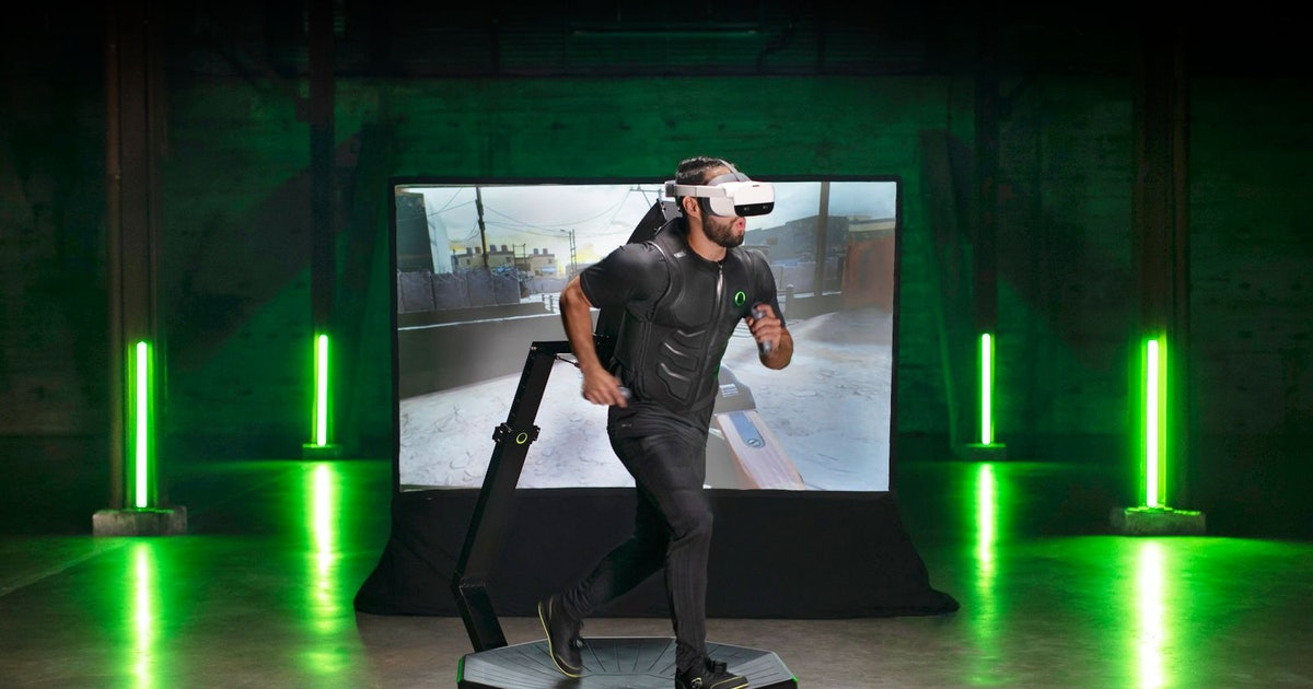 The Virtuix VR treadmill looks like a lawsuit waiting to happen