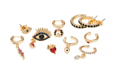 The Vampire's Wife Earring and Ear Cuff Selection