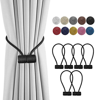 DELISIx Magnetic Curtain Holdbacks