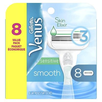 Gillette Venus Smooth Sensitive Razor Refills (8-Pack)