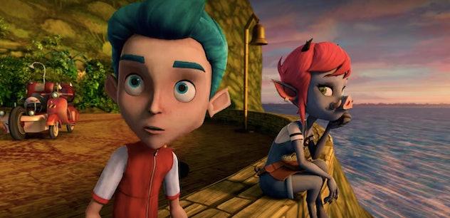 Lucas finds friends on 'Monster Island'