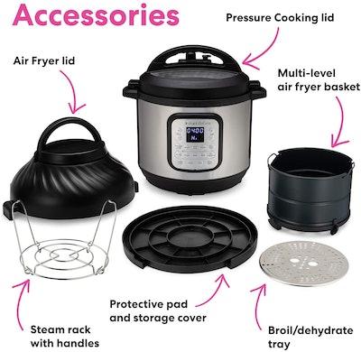 Instant Pot Duo Crisp Pressure Cooker (8-Quart)