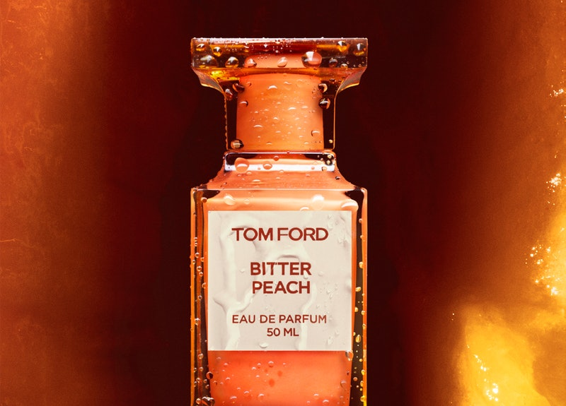 Tom Ford's new Bitter Peach scent is a fall-appropriate ode to sweet, summery peaches
