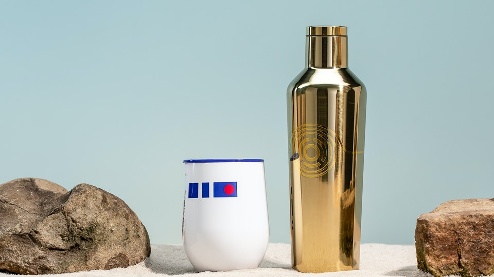 Star wars corkcicle insulated cups