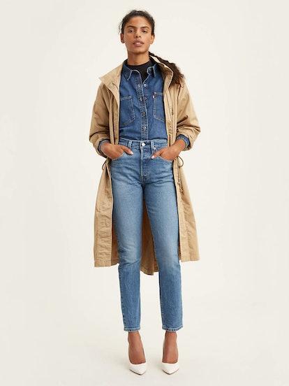501 Stretch Skinny Jeans