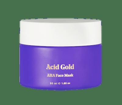 Acid Gold AHA Face Mask