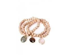 trio of jemma sands bracelets