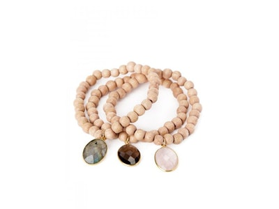 trio of jemma sands bracelets