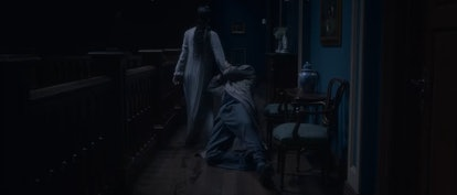 The Lady in the Lake drags Peter Quint's body away in  'The Haunting of Bly Manor'