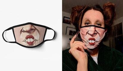 MidwestMerchantCo's Hocus Pocus Face Mask