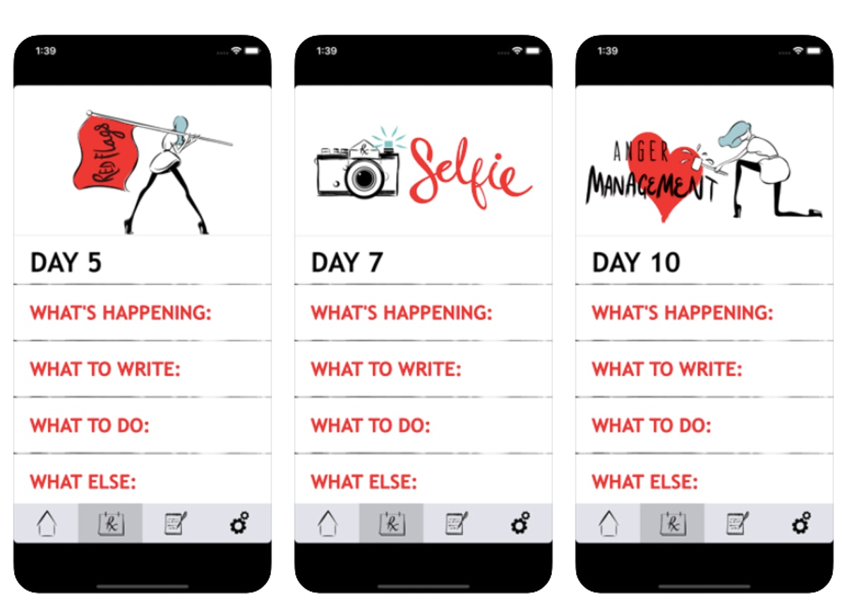 Among the mental health resources to use after a breakup is the app RXBreakup.