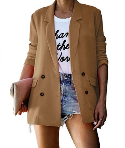 kenoce Women's Casual Blazer