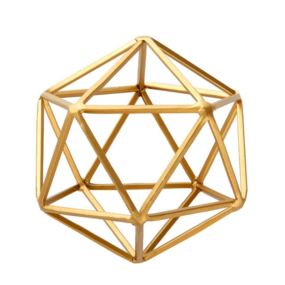 Geometric Tabletop Sculpture