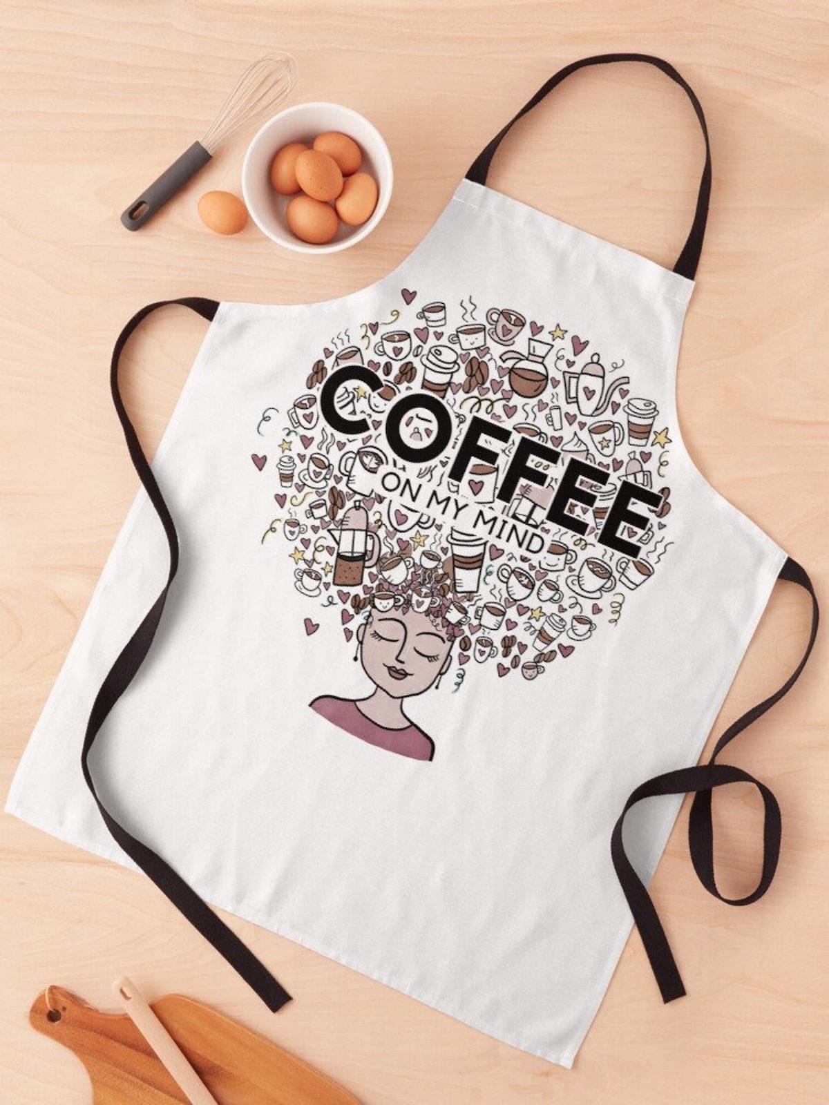 Coffee on my Mind Apron
